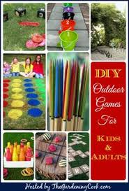7 Great DIY Outdoor Games And Activities For Kids Adults