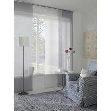 gardinia schiebevorhang entry 60 cm x 245 cm weiß