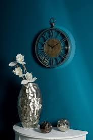 casa padrino luxus wanduhr im design einer antiken taschenuhr silber naturfarben ø 45 cm dekorative runde uhr mit einem ziffernblatt aus