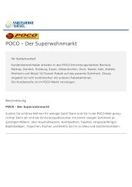 poco der superwohnmarkt stadtwerke wesel card