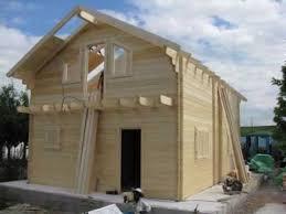 construction chalet bois en kit de 96 m épaisseur 80 mm