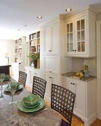 Organized Dining Room Cabinets Design