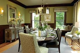 Update Traditional Dining Room Historic Furniture