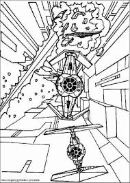 Lego Star Wars Coloring Pages Free
