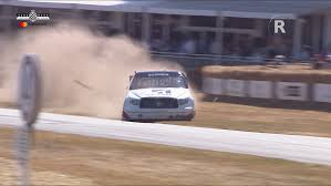 100 Nascar Truck Race Results Mike Skinner Goes Offroad In A NASCAR Truck At Goodwood FOS
