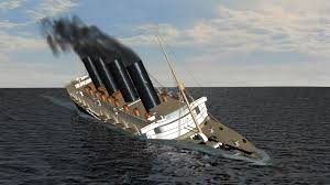 Where Did The Rms Lusitania Sink by 100 Rms Lusitania Model Sinking Sinking Of The Britannic