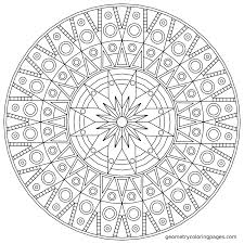 Free Printable Mandala Coloring Pages Adults Online Advanced Easy Full Size
