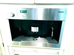 Miele Coffee Machine Parts Review Built In Espresso Maker