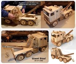 mega toys giant lumber truck wood toy plan set juguetes