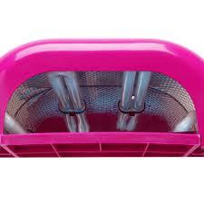 Sensationail Pro 3060 Led Lamp In Box by Amazon Com Salon Edge 36w Uv Nail Lamp Timer Dark Pink Beauty