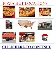 Pizza Hut Locations Food Group
