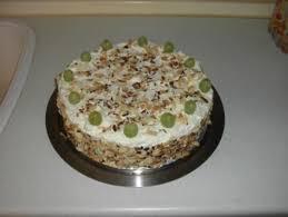 trauben sahne torte