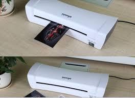 plastifier bureau en gros blanc a4 photo plastifieuse bureau chaude et froide thermique