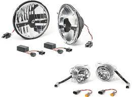 quadratec led headl upgrade conversion led fog lights kit for