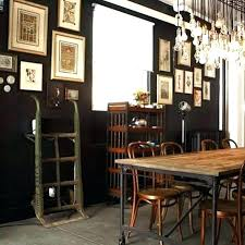 Industrial Dining Room Photo Of Ideas Artsy Decor Accessories Farmhouse