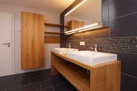 formschöne badmöbel aus massivholz lignum die