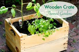 Image Via Playful Learning Idea 3 How To Create Wooden Crate Themed Gardens