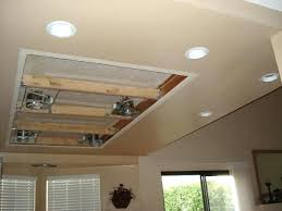 the light installation in a ceiling tile concerning