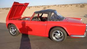 Skip The Cobra (or Tiger) And Buy This Ford V8 Powered Triumph TR4
