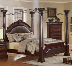 Neo Renaissance King King Canopy Bed by Crown Mark Furniture