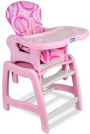 100 Dora High Chair Badger Basket Envee Baby With Playtable Conversion Pink
