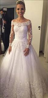 Wedding Ideas Appealing ¢Ë†Å¡ 24 Nice Long Lace Wedding Dress I