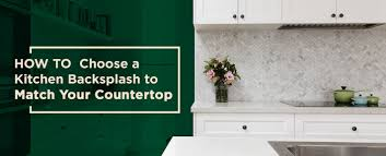 Kitchen Countertops And Backsplash Pictures How To A Backsplash To Match Your Countertops