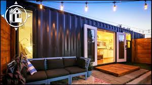 100 Container Shipping Houses Becomes Fabulous Backyard Tiny Home