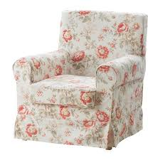 Ikea Ektorp Chair Cover Svanby Beige by Ikea Ektorp Jennylund Armchair Cover Byvik Pink And Beige Floral
