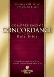 HCSB Comprehensive Concordance Holman Christian Standard Bible