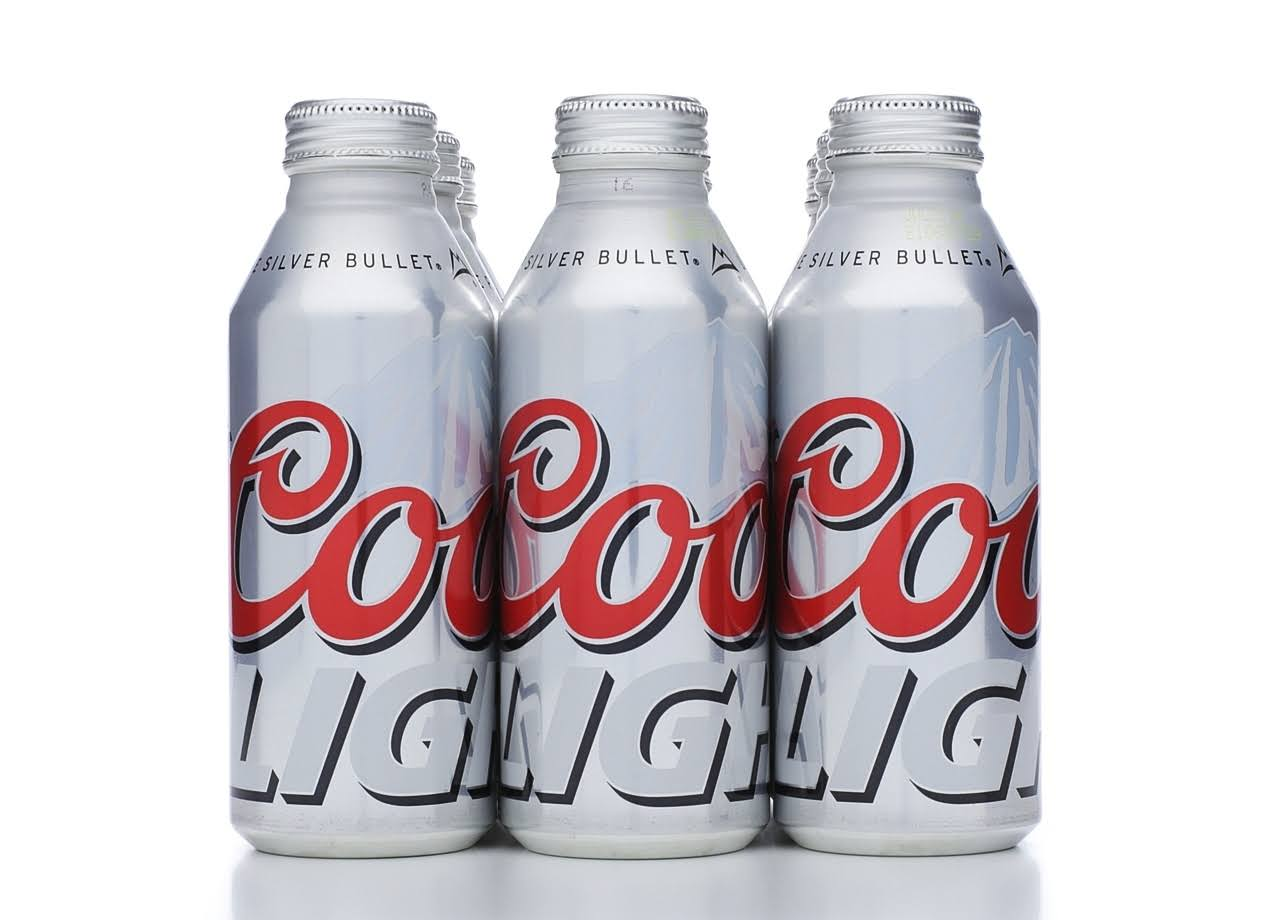 Coors Light Beer - x9
