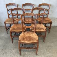 French Country Dining Chairs Refinished Painted Vintage 1960s Thomasville Ding Table Antique Set Of 6 Chairs French Country Kitchen Oak Of Six C Home Styles Countryside Rubbed White Chair The Awesome And Also Interesting Antique French Provincial Fniture Attractive For Eight Cane Back Ding Set Joeabrahamco Breathtaking