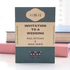 Wedding Invitation Book