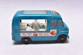 100 Toy Ice Cream Truck Matchbox Lesney No47 Commer Lyons Maid Blue