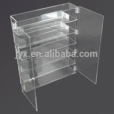 Clear Acrylic Wall Mount Display Cabinets
