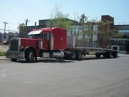 Peterbilt Semi Truck Flatbed, Commercial Truck Paper | Trucks ...