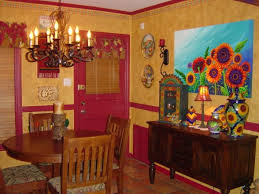 Home Interior Cozy Mexican Style Homes Decor