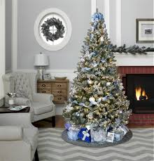 Kmart Christmas Tree Skirt by Jaclyn Smith 86 Piece Complete Christmas Tree Trim Kit Midnight