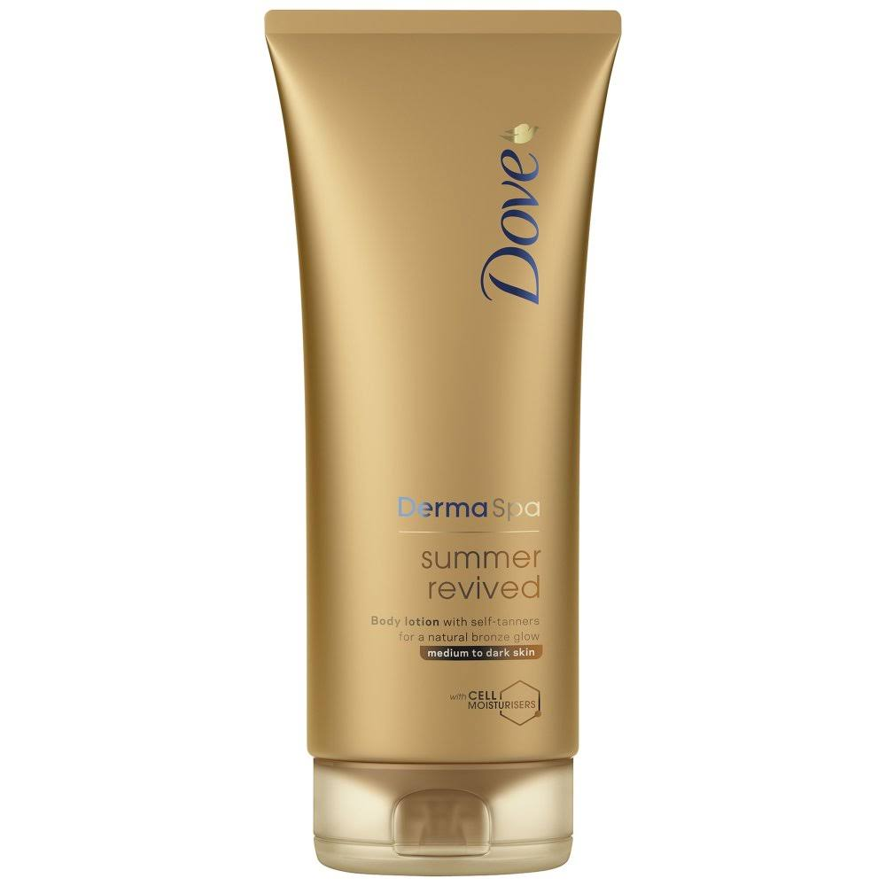 Dove Medium to Dark Skin Summer Revived Lotion - 200ml