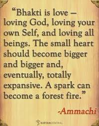Ammachis Beautiful Quote About Bhakti Yoga Kirtancentral