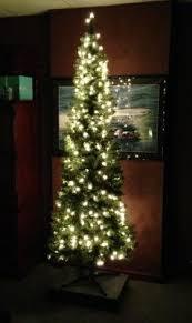Pre Lit Pencil Christmas Tree Walmart by Holiday Time Pre Lit 7 U0027 Brinkley Pine Pencil Artificial Christmas