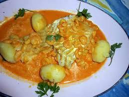 comment cuisiner le cabillaud recette de filet de cabillaud aux crevettes