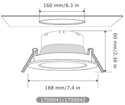 Recessed Lighting Dimensions How To Install Led Downlight Ever