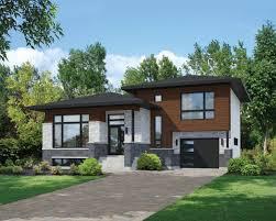 100 Modern Split Level Homes Plan 80789PM Contemporary House Plan Paint