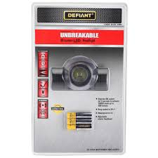 Defiant - Headlamps - Flashlights & Accessories - The Home Depot