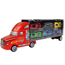 100 Toy Car Carrier Truck KAWO Transport Rier For Boys Includes 12