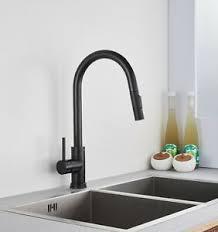 details zu wasserhahn schwarz matt küchen armatur einhebelmischer brause modern ausziehbar