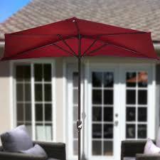 Walmart Patio Umbrella Red by Discount Patio Furniture As Walmart Patio Furniture With New Half