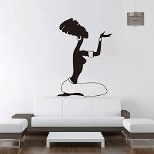 Home Interior Pics Afrikanische Frauen Wand Aufkleber Vinyl Aufkleber Home Interior Design Afrika Aufkleber Wandbilder Wand Kunst Dekor