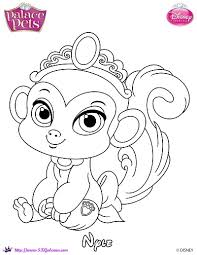 SKGaleana 4 0 Nyle Princess Palace Pet Coloring Page By